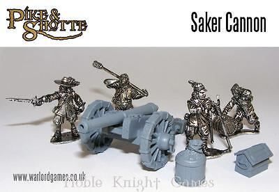 Warlord Pike & Shotte 28mm Saker Cannon Pack MINT