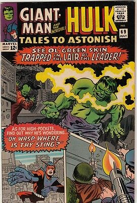 Tales to Astonish #69 Giant-Man and Hulk strict NM- 9.2 High-Grade C'ville 20pct
