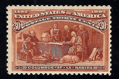 US #239 MNH 1893 30c 'Columbian Exposition' Classic Stamp Issue...Ships Free
