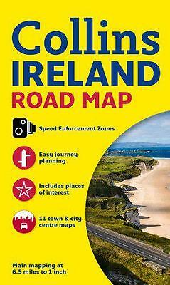 Ireland Road Map, Collins Maps | Map Book | 9780007543984 | NEW