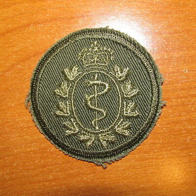 Canadian Army Cap Badge Medical Branch nice