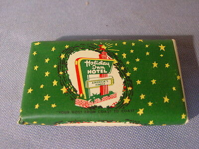 Vintage Holiday Inn Hotel Bakersfield CA Lux Toilet Soap Advertising Soap Bar