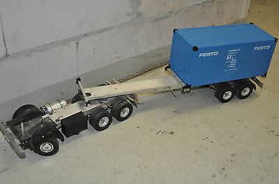 Carson Tamiya Wedico Comvec Veroma 1:14 Truck Trailer Chassis Anhänger Vintage