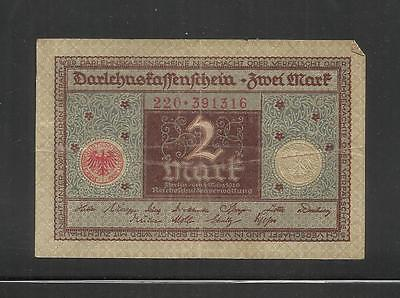 Germany ~  1920 Notgeld 2 Mark (Circ.) Local Currency Note