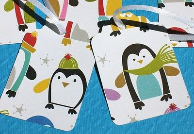 Penguin Party - Holiday Gift Tags