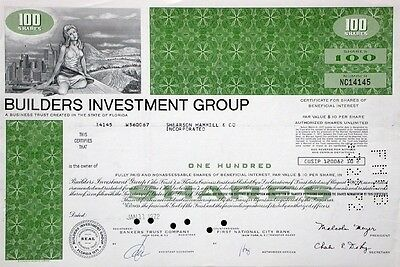 Builders Investment Group - 1971 (Florida)