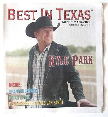 2013 Best in Texas Local TX Magazine w/ Kyle Park Cover!