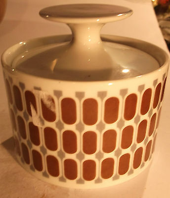 Small Lidded Porcelain Pot By Thomas Of Germany- Free Uk Postage.