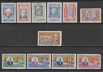 Spain 1934-1945. Charity: Paedagogians' Issues. Lot To See