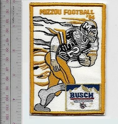 Beer Football Missouri Tigers MIZZOU & Busch Beer College Football 1984 Promo