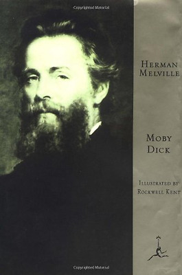 Moby Dick (Modern Library) (Modern Library) [Illustrate - Hardcover NEW Melville