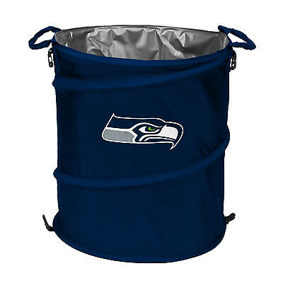 628-35 Logo Chair Seattle Seahawks Collapsible 3-in-1 Cooler