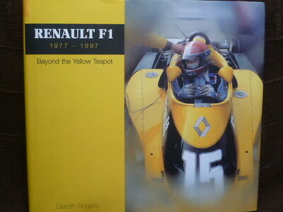 *** Rare RENAULT F1 1977-97 superb HB book in EXCELLENT condition ***