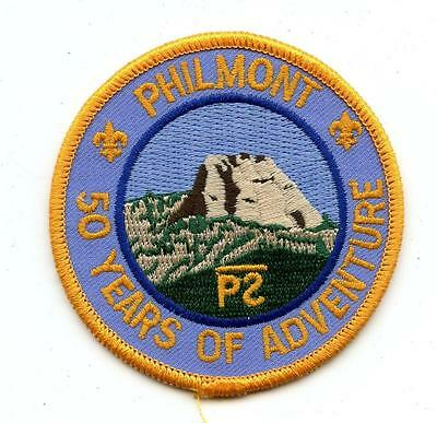 """1989 PHILMONT 50 YEARS High Adventure Camp bsa BOY SCOUT 3"""" Patch MINT"""