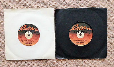 "KELLY MARIE - LOVE'S GOT A HOLD ON YOU & LOVING JUST FOR FUN 7"" VINYL's"