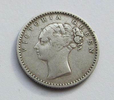 East India Company 1840 silver quarter Rupee - Nice filler/collectable coin