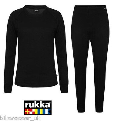 Rukka Mark All Year Thermal Motorcycle Top & Bottom Base Layer Set