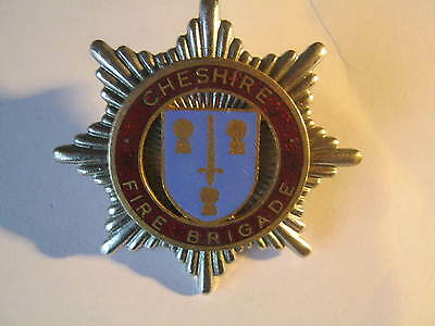 Cheshire Fire Brigade Cap Badge