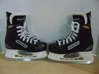 Hockey Skates Childrens Size 2 Shoe Size Bauer Supreme Mint