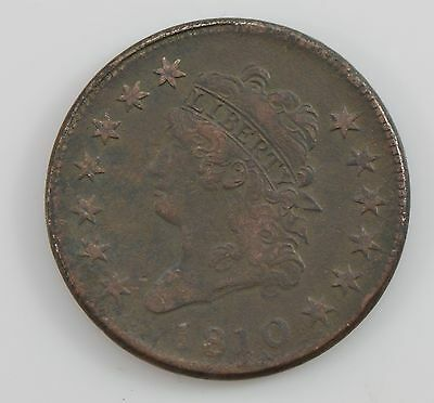1810 Classic Head *Normal Date* Large Cent *G08