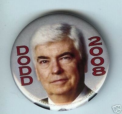 DODD for President 2008 pin
