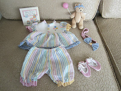 Bitty Baby & Bitty Bear Big Top Fun Outfit 9 Pc & Pop Up Book Bear Included