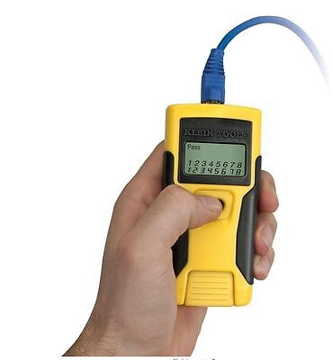 Klein Tools RJ45 LAN Twisted Pair Data Wiring Ethernet Cable Diagnostic Tester