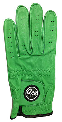 "Full Cabretta Leather ""Players"" Golf Glove - Left Hand Large - from Ace Golf"
