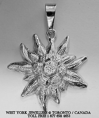 Edelweiss  Pendant Sterling Silver Anhänger GERMANY  SOCCER 2014