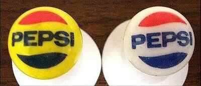 Two Different Pepsi-Cola Marbles