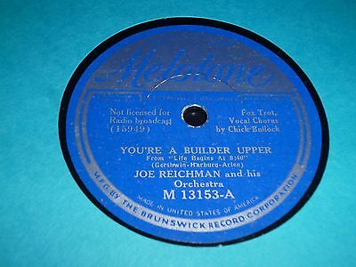 """COLLECTION 7x VARIOUS Dance Band 10"""" 78RPM Gramophone Records 69/40"""