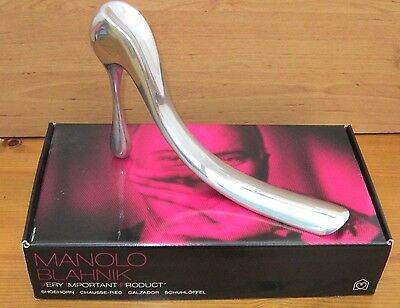 Modernist Design Shoehorn / Shoe Horn Manolo Blahnik, High Heel  Bnib