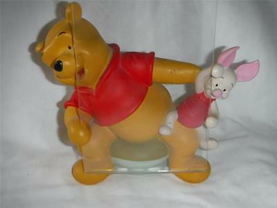 Walt Disney Winnie the Pooh and Piglet Picture Holder, Excellent condition