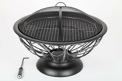 point garden feuerschale 75cm gartengrill grill kupfer neu. Black Bedroom Furniture Sets. Home Design Ideas
