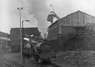 Photo  Ncb Shunting The Screens At Lady Windsor Colliery 19Th May 1976