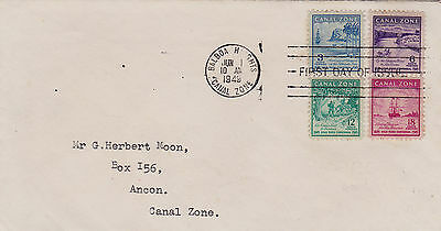 Canal Zone : Centenary Of The Gold Rush, First Day Cover (1949)