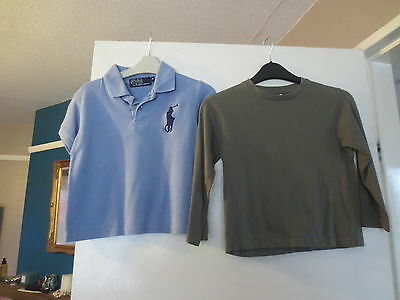 2 BoyS T SHIRT  TOPS  SIZE 4 TO 6