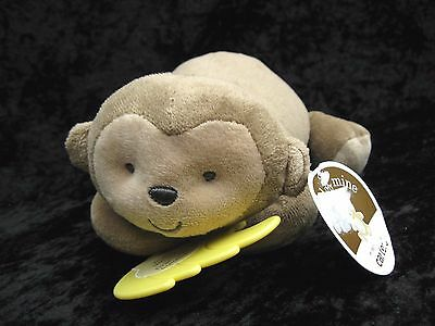 Carters Child of Mine Monkey Bananas Brahms Lullaby Musical Plush Crib Pull Toy