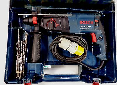Bosch GBH 2-26DRE 110v SDS Rotary Hammer Drill 800W 3 Mode Chisel Function