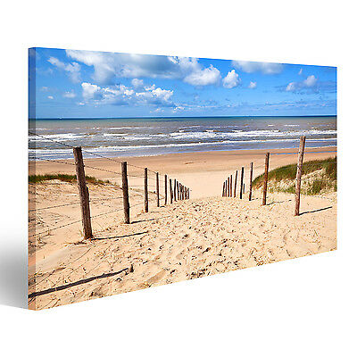 sundown bild strand meer keilrahmen leinwand poster wandbild 120 cm 80 cm 547 eur 34 50. Black Bedroom Furniture Sets. Home Design Ideas
