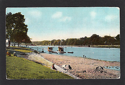 PERTH   by the banks of the  TAY          Scotland  (w65)