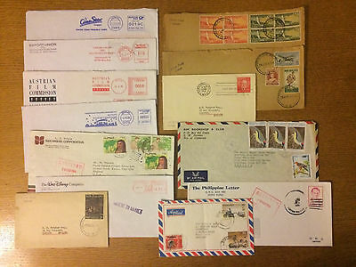 Interesting lot covers - New Zealand, Film, Philippines, Zimbabwe, Cameroon