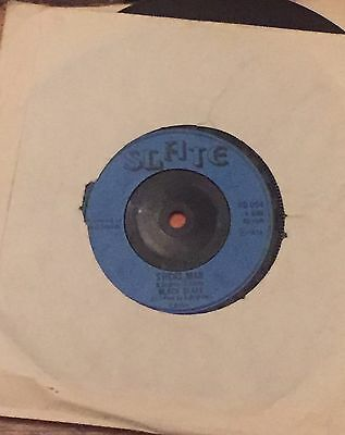 "Black Slate : Sticks Man / Robber Man In Dub . Slate Record Label 7"" VG +++"
