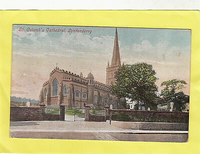 ST  COLUMB'S  CATHEDRAL  LONDONDERRY     ,    N  IRELAND   (e17)