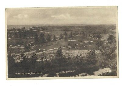 Old Postcard, CAMBERLEY Barossa, Common, countryside, Frith