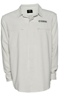 G Loomis Vented Shirt - Light grey