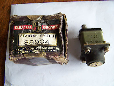 David Brown Tractor Starter Switches