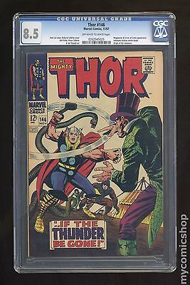 Thor (1962-1996 1st Series Journey Into Mystery) #146 CGC 8.5 0262545025