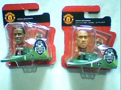 Official Licensed Manchester United SoccerStarz Chris Smalling/Antonio Valencia