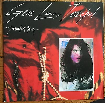 "Gene Loves Jezebel - Sweetest Thing UK 1986 7"" PS Beggars Banquet (Goth)"